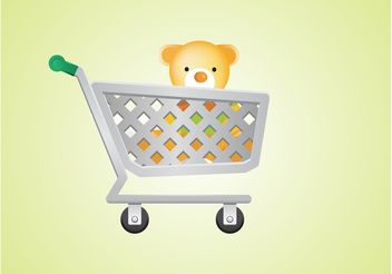Vector Shopping Cart - vector #150305 gratis