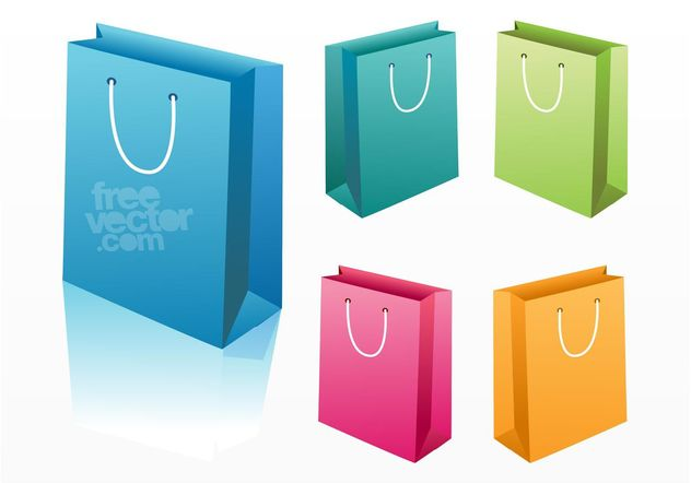 Shopping Bags - Free vector #150515