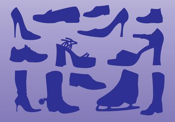 Shoes Vectors - vector gratuit #151275