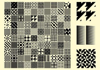 Patterns - vector gratuit #151385