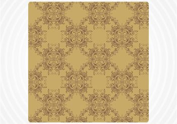 Antique Tile - vector gratuit #151405