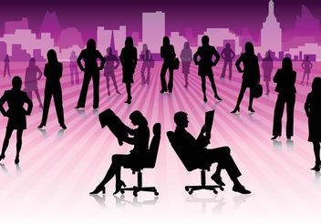 Business People - vector gratuit #151435