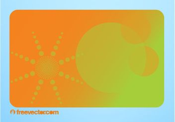 Business Card Layout - vector #151465 gratis
