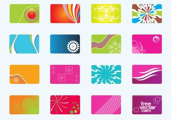 Free Business Cards - бесплатный vector #151755