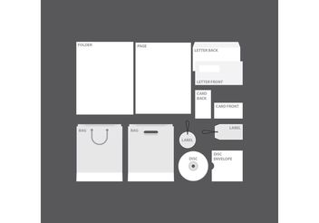 Blank Company Profile Template - Free vector #151845