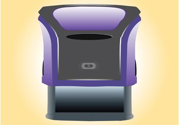 Self Inking Stamp - vector #152095 gratis
