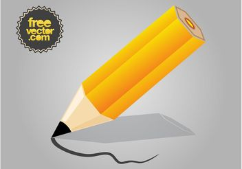 Vector Pencil - vector gratuit #152145
