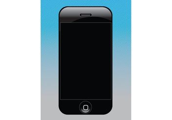 Free Vector iPhone Design - vector gratuit #152355