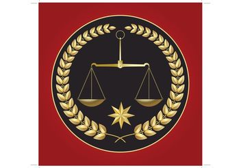 Justice in Balance - Free vector #152375