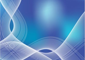 Blue Ribbon Background - Free vector #152515