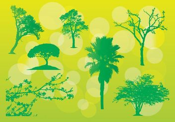 Free Tree Vector Illustrations - vector #152565 gratis