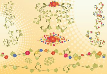 Colorful Flowers Footage - vector #153165 gratis