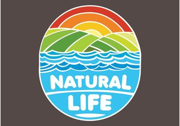 Nature Logo - Free vector #153415