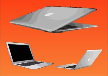 Apple MacBook Air - vector #153585 gratis