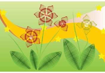 Flowers Computer Graphics - Free vector #153615
