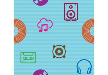 Music Vector Pattern - Free vector #153815