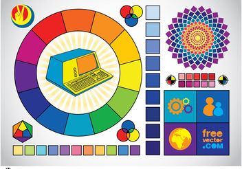 Color Graphics - vector gratuit #153895