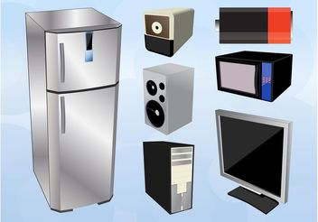 Home Electronics - vector #153995 gratis
