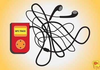 MP3 Player - vector #154175 gratis