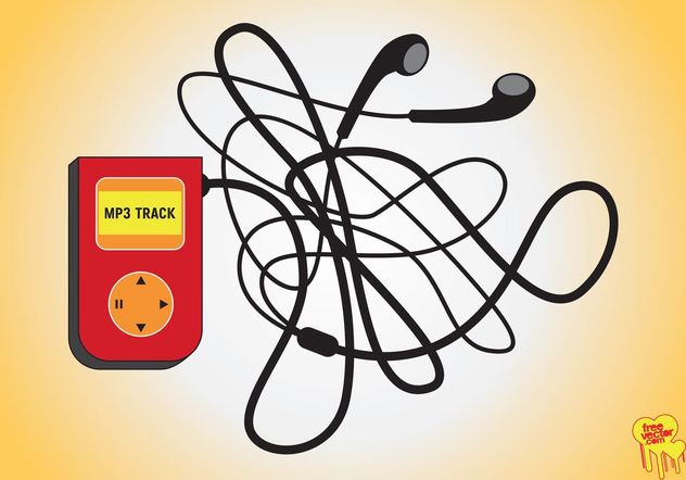 MP3-player - Kostenloses vector #154175