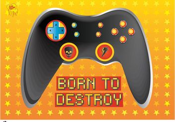 Game Console - vector gratuit #154205