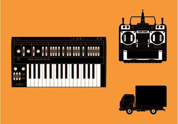 Various Objects - vector #154275 gratis