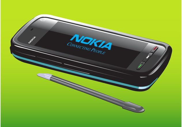 Nokia Phone - Free vector #154345