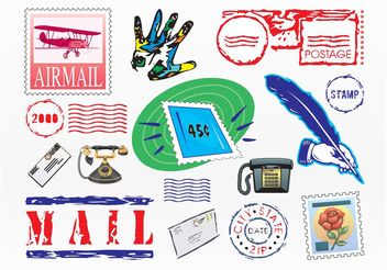 Communication Graphics - Free vector #154355