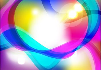 Colorful Lights Background - vector gratuit #154675