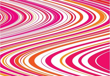 Waving Lines Background Design - Free vector #154875