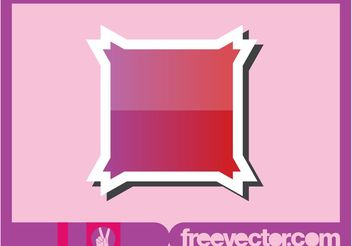 Shiny Sticker Design - Free vector #154885