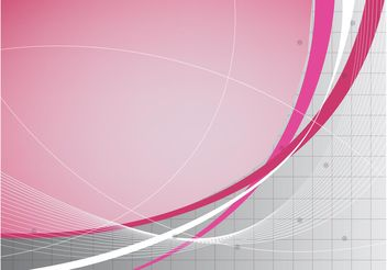 Pink Background Design - vector gratuit #155045