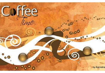 Coffee Mood - vector gratuit #155125