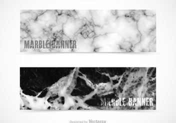 Free Marble Vector Banners - Free vector #155145