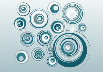 Circles Decorations - vector gratuit #155195