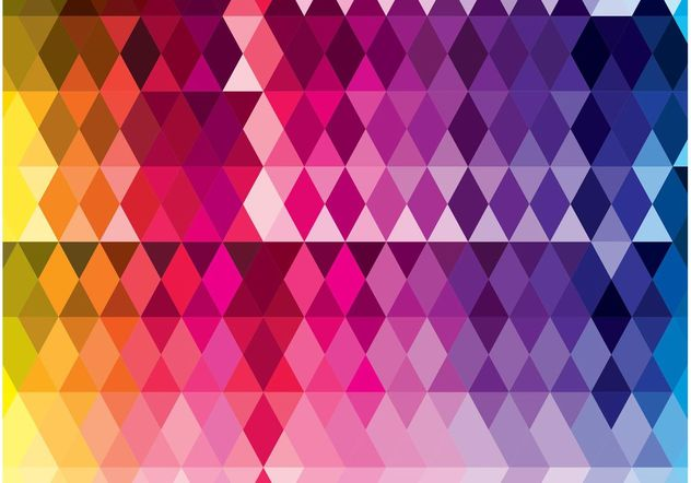 motif de triangles - vector gratuit #155215