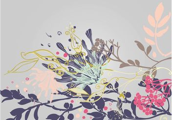 Plants Composition - vector #155225 gratis