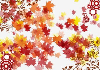 Autumn Vector - Free vector #155245
