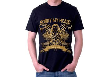 Sorry My Heart Grunge Tshirt Vector Design - Kostenloses vector #155325