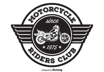 Motorcycle Riders T Shirt Design - vector gratuit #155395