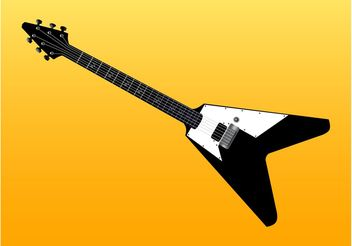 EPS Guitar - vector gratuit #155615