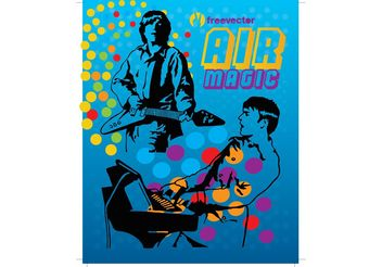Air Live Music - vector #155675 gratis