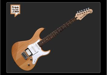 Yamaha Pacifica Electric Guitar - vector gratuit #155685