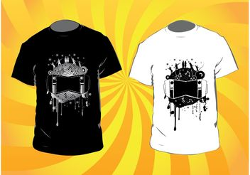 Music T-Shirts - Kostenloses vector #155745