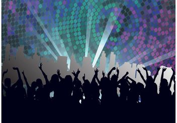 Nightclub Footage - Free vector #155835