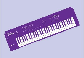 Keyboard Vector - vector gratuit #155915