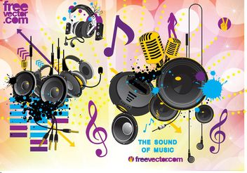 Free Sound Vector Graphics - vector gratuit #156125