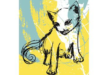 Free Cat Vector - Free vector #156755