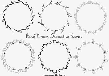Decorative Frame Set - Free vector #156775
