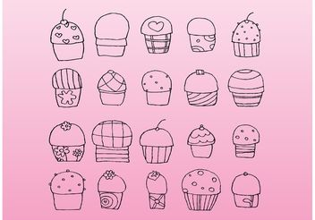 Sweets - Free vector #156815